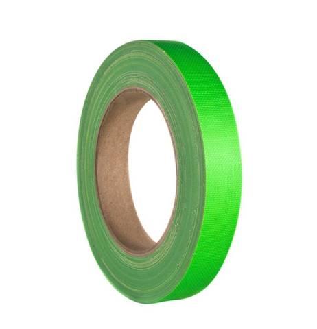 Bilde av Gaffa / Gaffer Tapes Neon Green 19mm x 25m